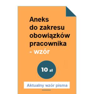 aneks-do-zakresu-obowiazkow-pracownika-wzor-pdf-doc