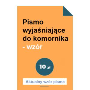 pismo-wyjasniajace-do-komornika-wzor-pdf-doc