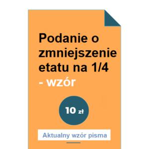 podanie-o-zmniejszenie-etatu-na-1-4-wzor-pdf-doc