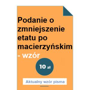 podanie-o-zmniejszenie-etatu-po-macierzynskim-wzor-pdf-doc