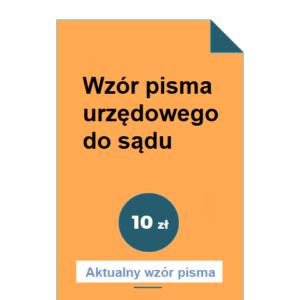 wzor-pisma-urzedowego-do-sadu-pdf-doc