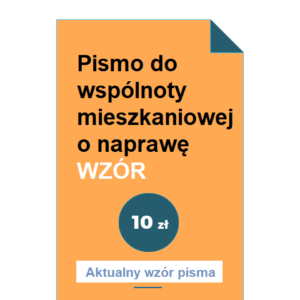 pismo-do-wspolnoty-mieszkaniowej-o-naprawe-wzor-pdf-doc