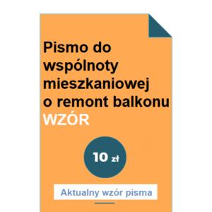 pismo-do-wspolnoty-mieszkaniowej-o-remont-balkonu-wzor-pdf-doc