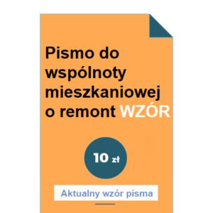 pismo-do-wspolnoty-mieszkaniowej-o-remont-wzor-pdf-doc