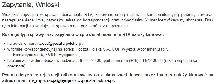 poczta-polska-abonament-rtv-zaległosci