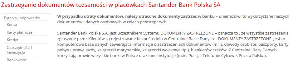 Zastrzeżenie-dowodu-osobistego-Santander