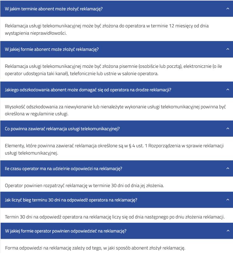 najczesciej-zadawane-pytania-reklamacja-uslugi-telekomunikacyjnej