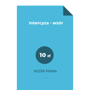 Intercyza - wzór