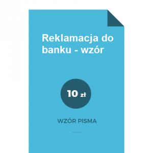reklamacja-do-banku-wzor