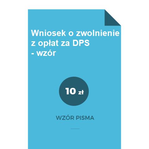 Wniosek-o-zwolnienie-z-oplat-za-DPS-wzor-doc-pdf