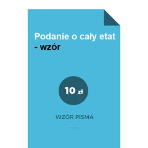 podanie-o-caly-etat-wzor-doc-pdf