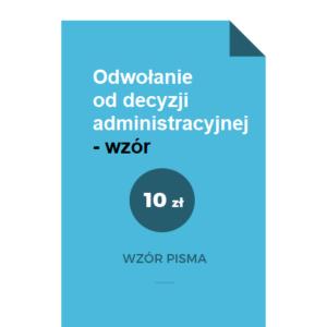 Odwołanie-od-decyzji-administracyjnej-wzor-pdf-doc