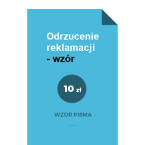 Odrzucenie-reklamacji-wzor-pdf-doc