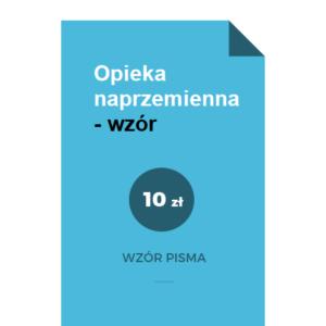 Opieka-naprzemienna-wzor-pdf-doc