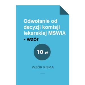 odwolanie-od-decyzji-komisji-lekarskiej-mswia-wzor-pdf-doc