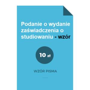 podanie-o-wydanie-zaswiadczenia-o-studiowaniu-wzor-pdf-doc
