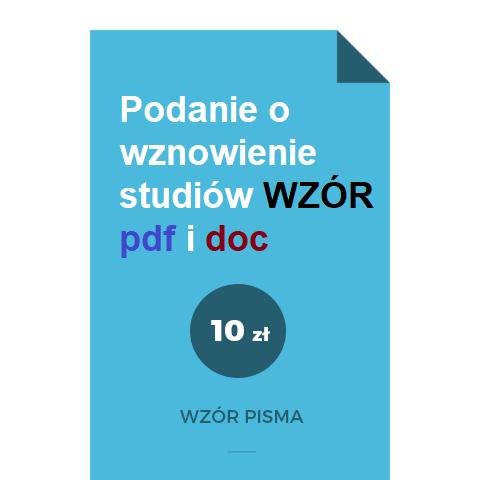 podanie-o-wznowienie-studiow-wzor-pdf-doc