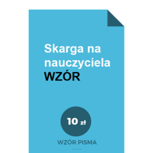 skarga-na-nauczyciela-wzor-pdf-doc