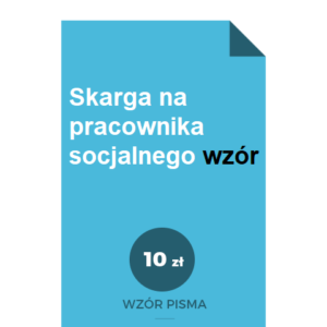 skarga-na-pracownika-socjalnego-wzor-pdf-doc