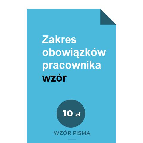 zakres-obowiazkow-pracownika-wzor-pdf-doc-word